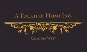 A touch of home inc. Claudia West.