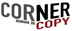 Corner Copy. Norman, Oklahoma.