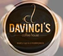 Davinci's coffee house. Every cup is a masterpiece.