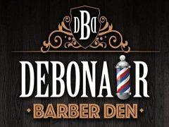 Debonair barber den.
