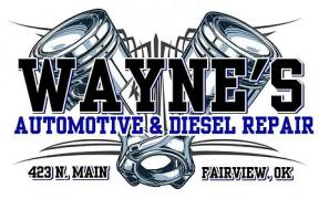 Waynes automotive and diesel repair.