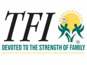 TFI. Devoted to the strength of family.