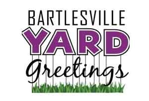 Bartlesville yard greetings.