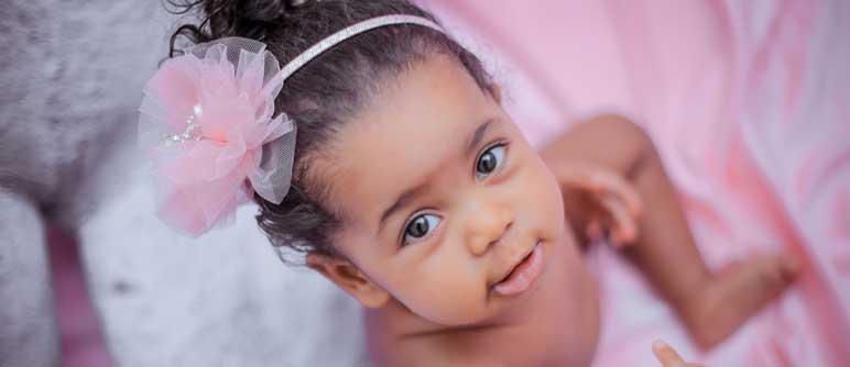 infant girl.